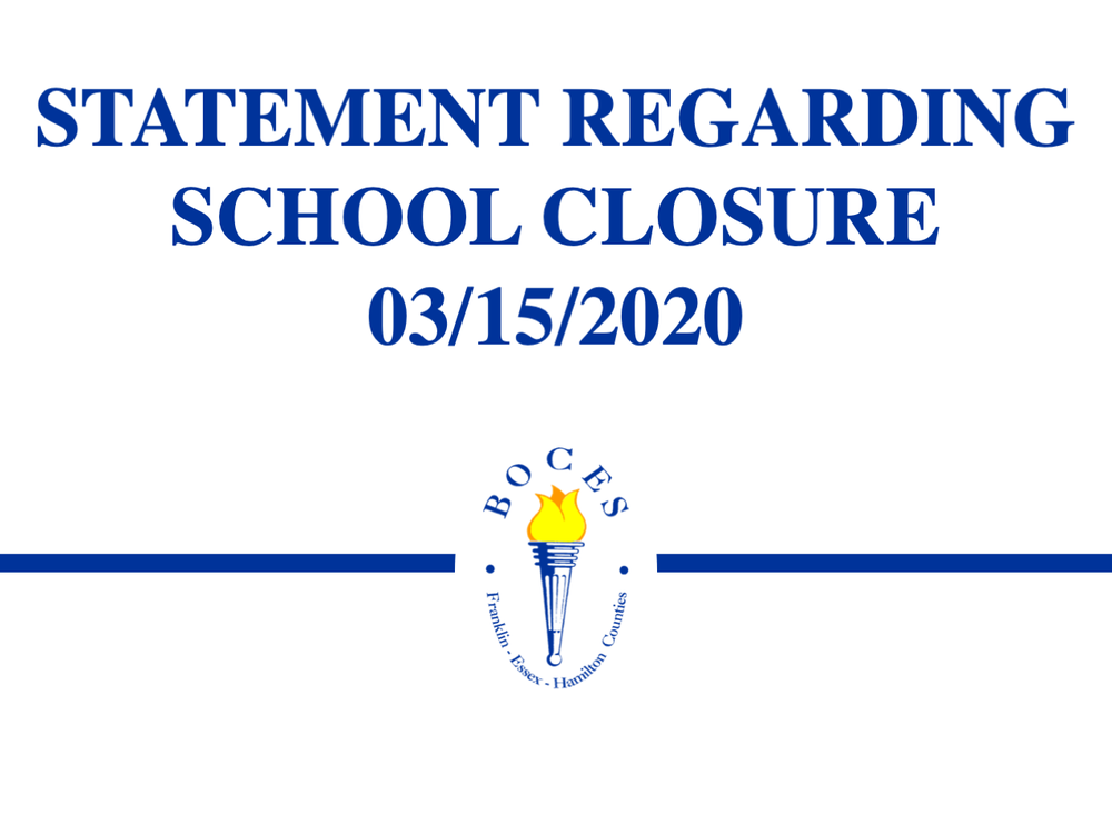 FEH BOCES School Closure 03/15/2020