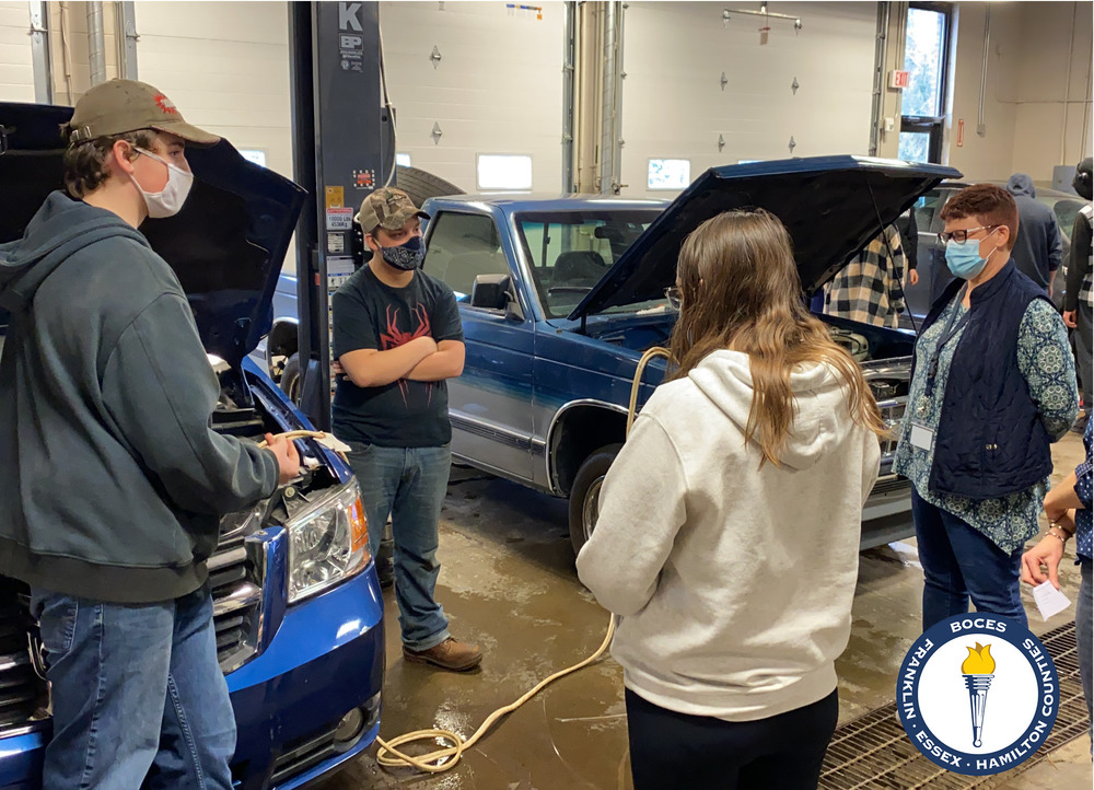 Auto tech students compete