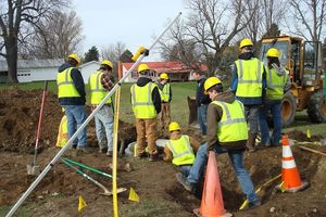 BOCES Students Install Fiber Optic Cable for Civic Center Wireless Internet and Live-streaming