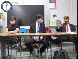 Students learn what it takes to debate