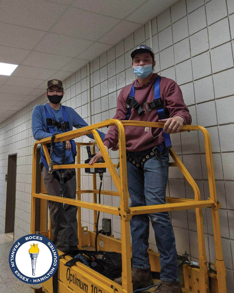 Electrical Trades students