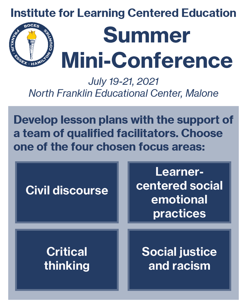 Summer mini conference July 19-21